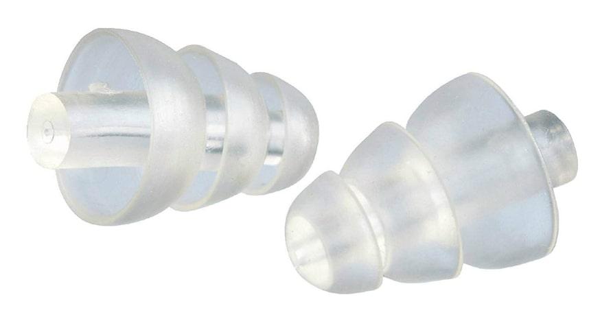 two white ear plugs