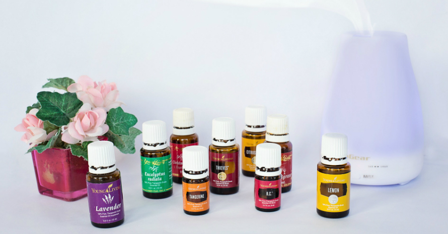 Humidifier and essential oils