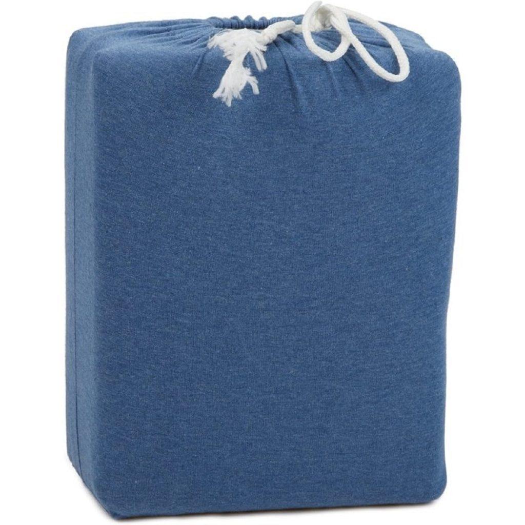 AmazonBasics Heather Cotton Jersey Bed Sheet Set packed