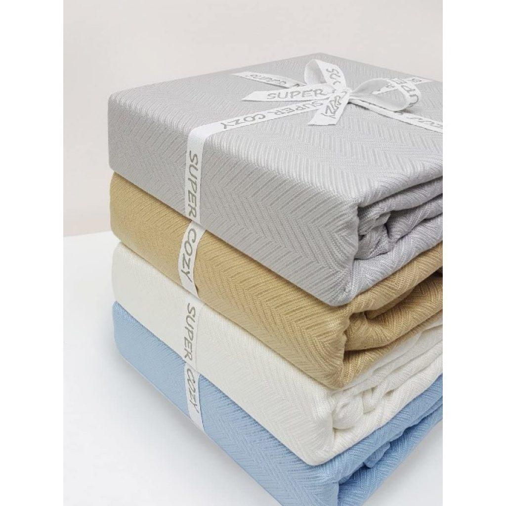 GOHD Super Cozy 100% Bamboo Fiber Blanket colors