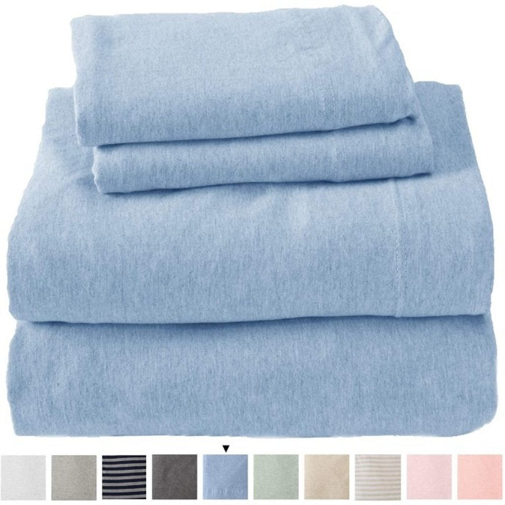 Great Bay Home Jersey Knit Sheets colors