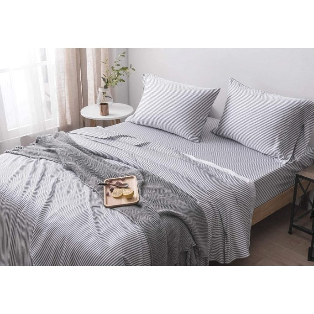 Oasis Fine Linens Island Bamboo Collection on bed