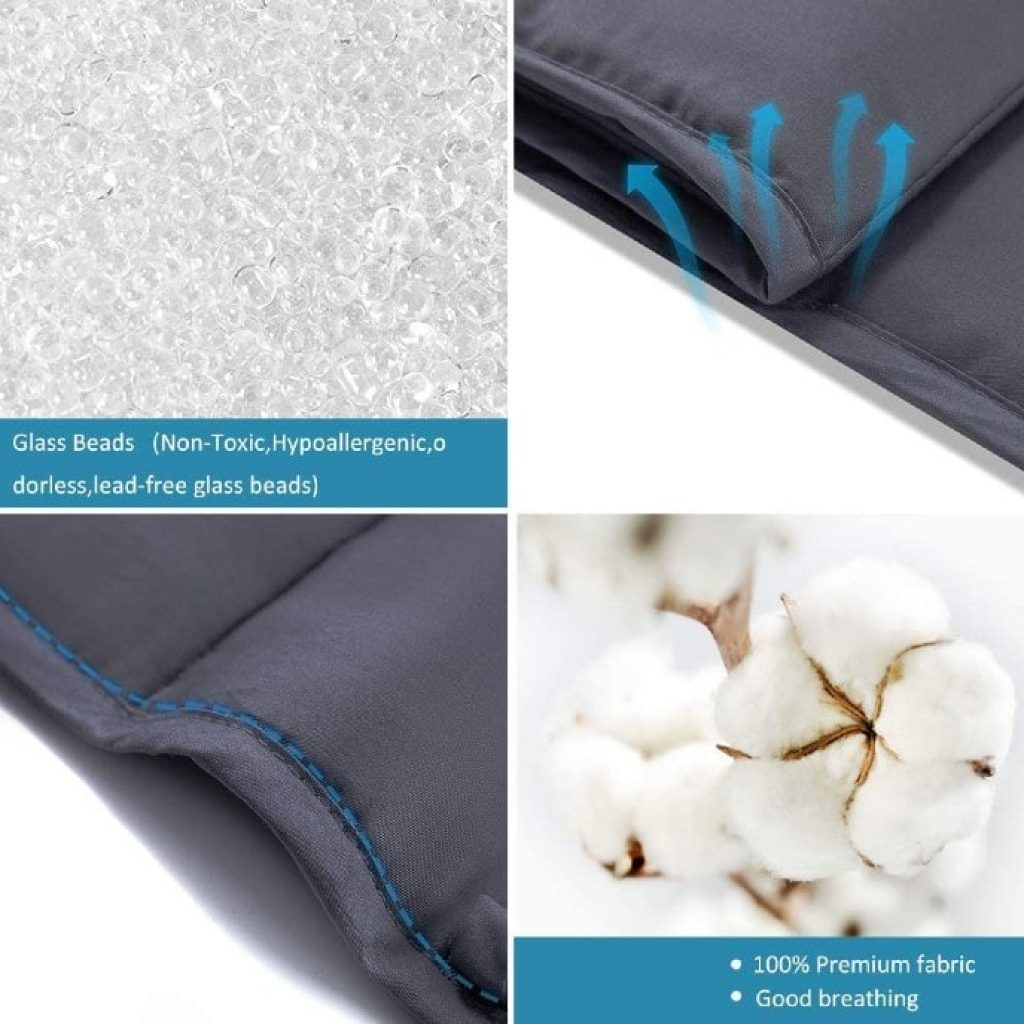 Syrinx Cooling Weighted Blanket structure