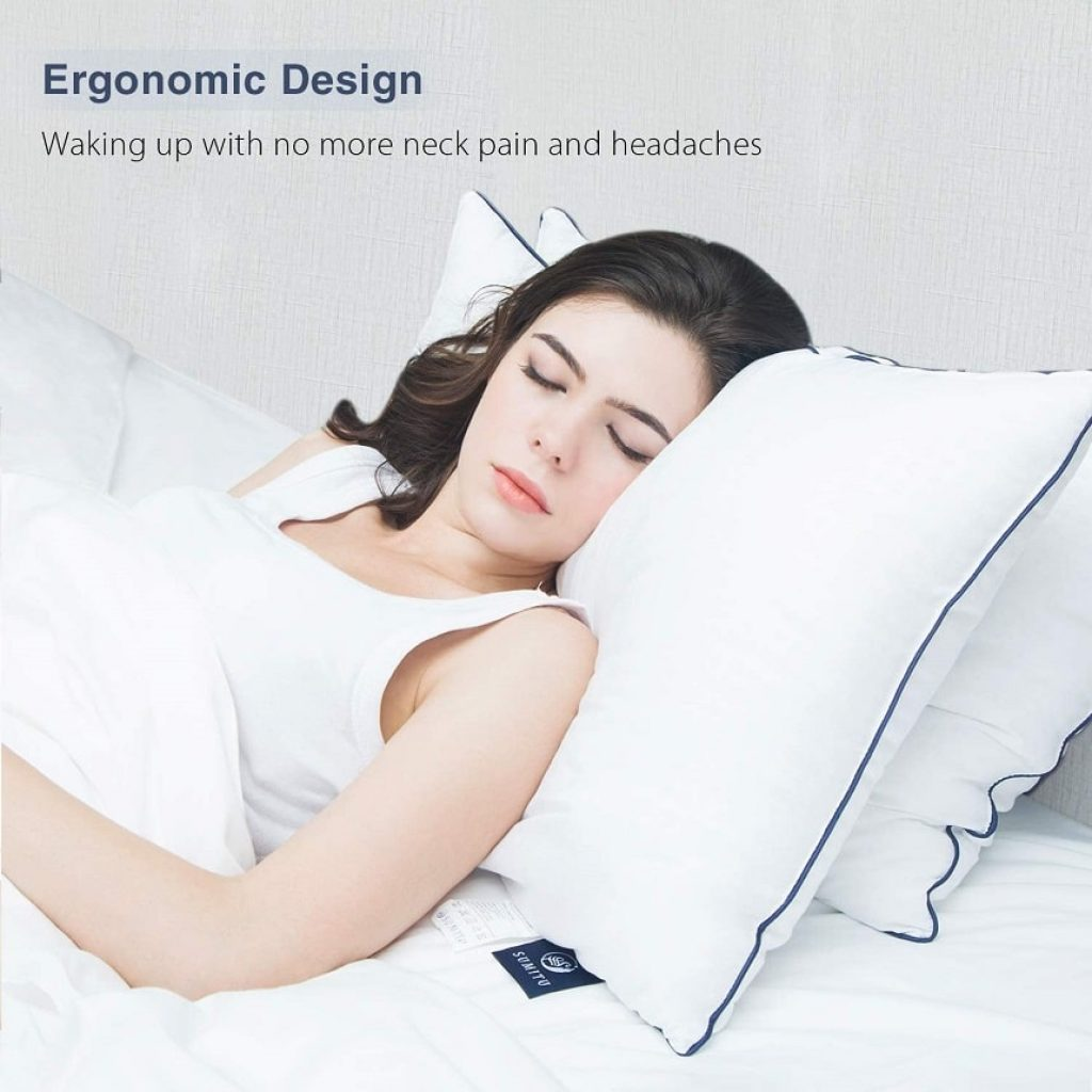 Hypoallergenic Pillow for Side and Back Sleeper