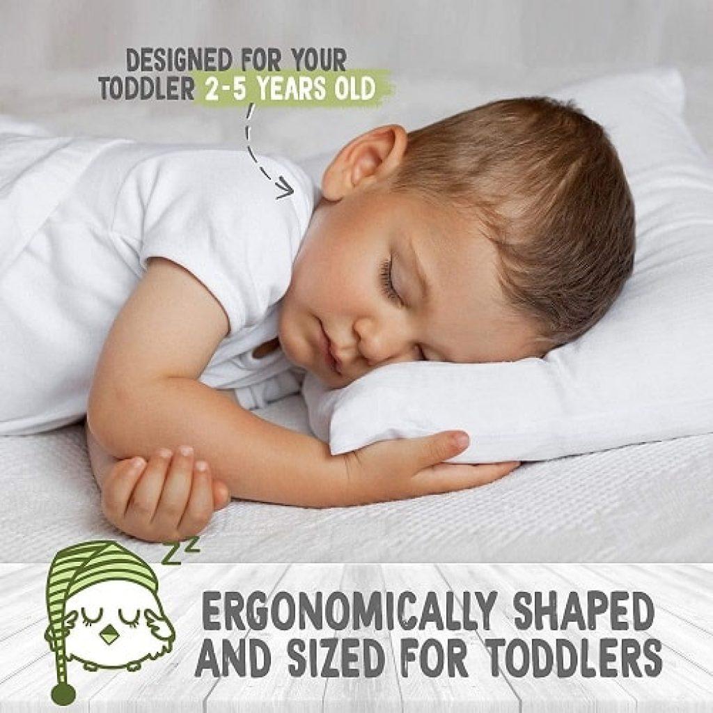 KeaBabies Toddler Pillow
