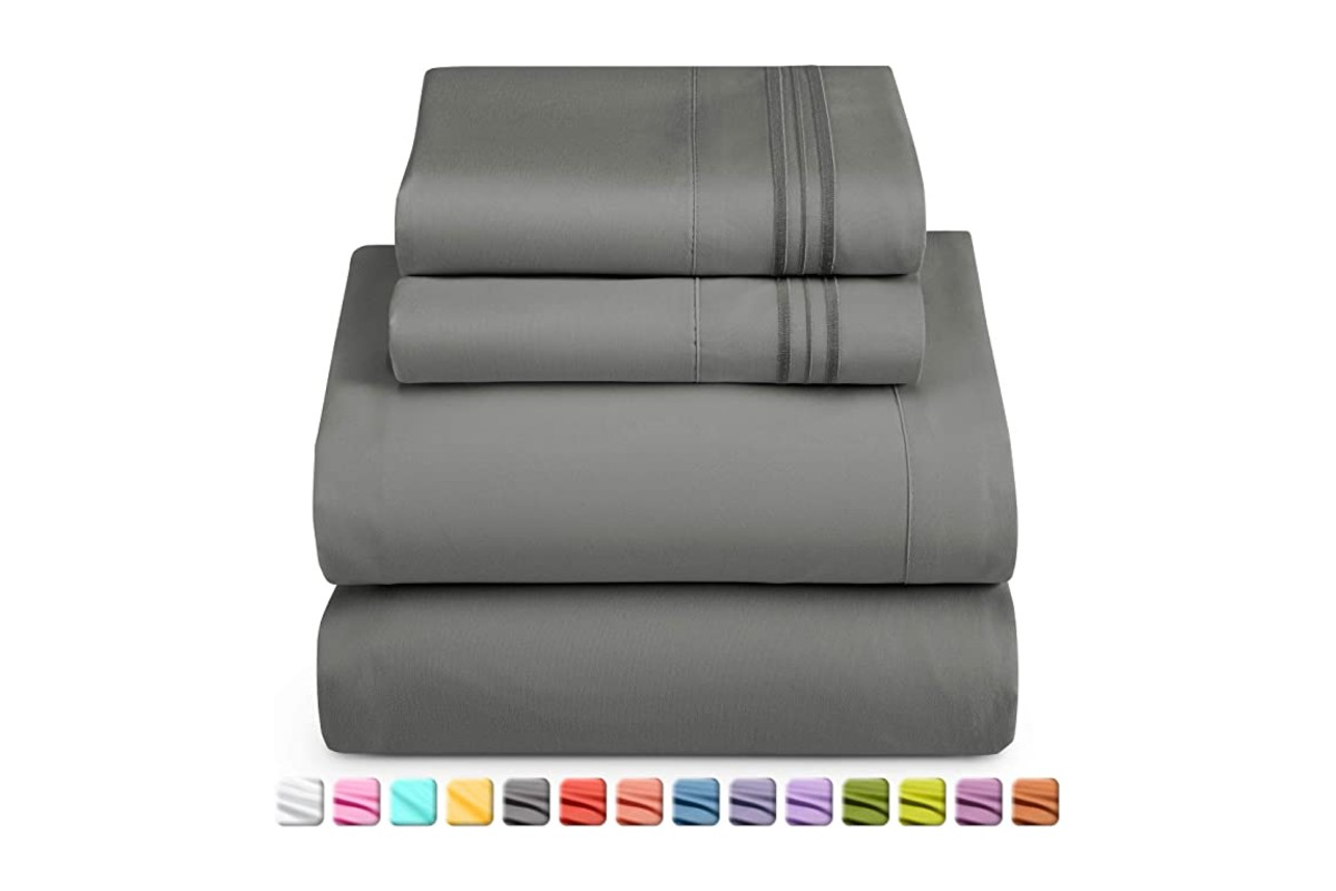 Nestl Deep Pocket Split King Sheets