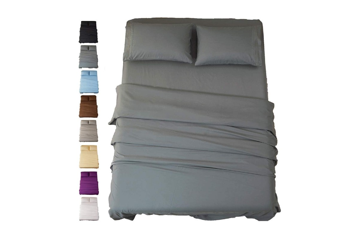 SONORO KATE Bed Sheet Set Super Soft Microfiber