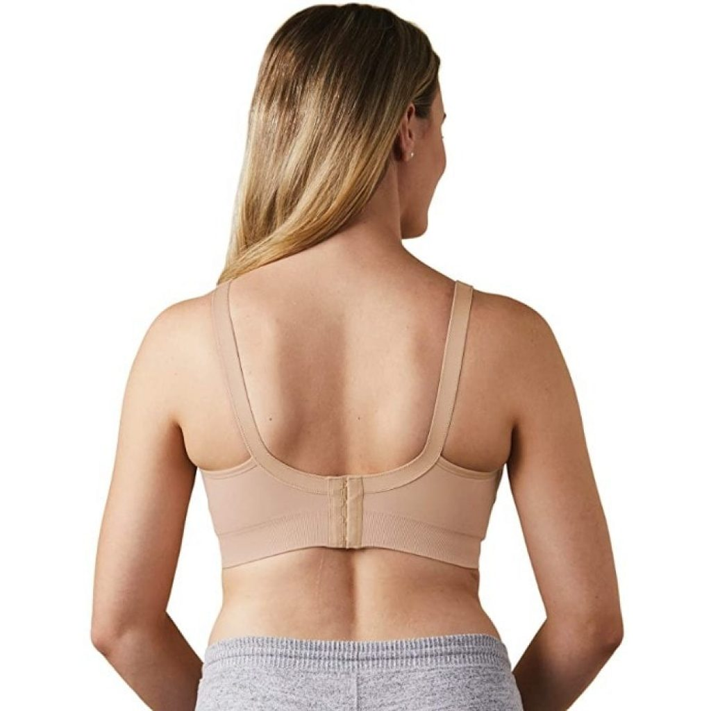 BRAVADO DESIGNS Women's Body Silk Seamless Nursing Bra view from behind