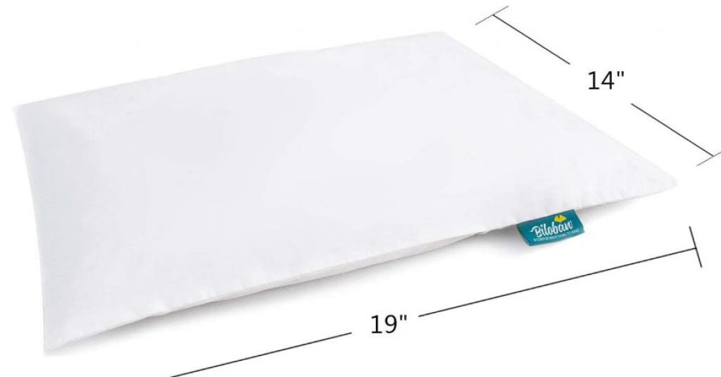 Baby Toddler Pillow for Sleeping sizes