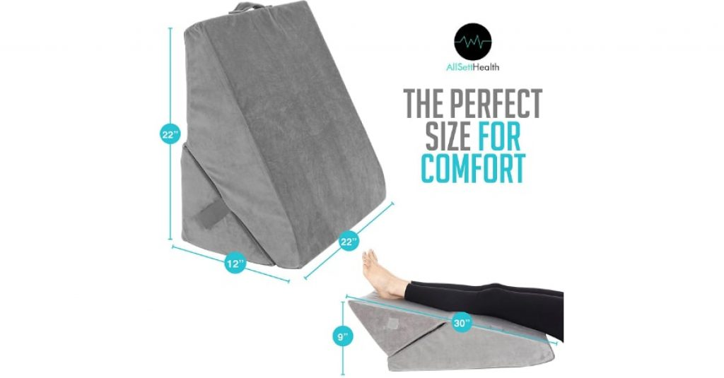 Bed Wedge Pillow sizes