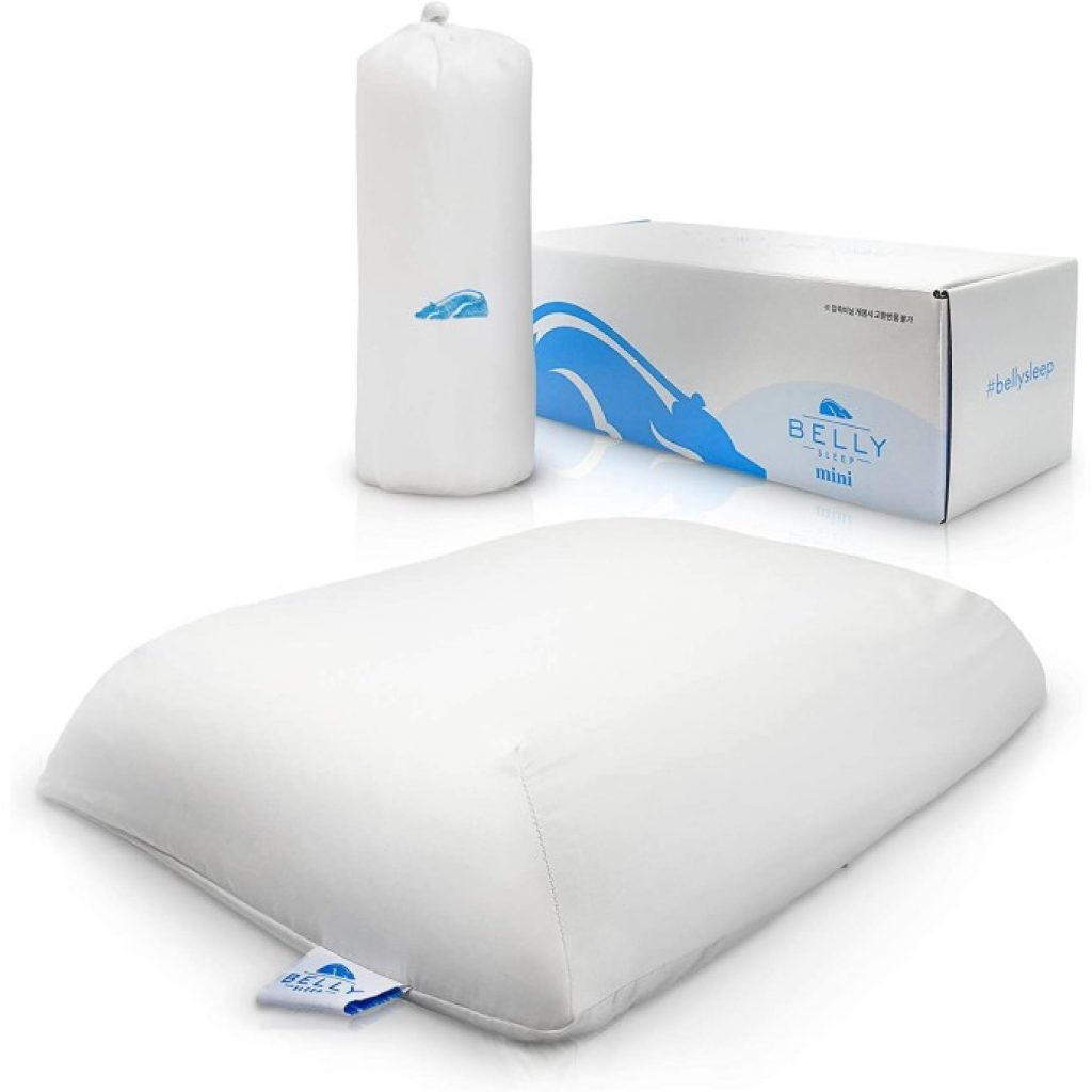 Belly Sleep Gel Infused Memory Foam Pillow