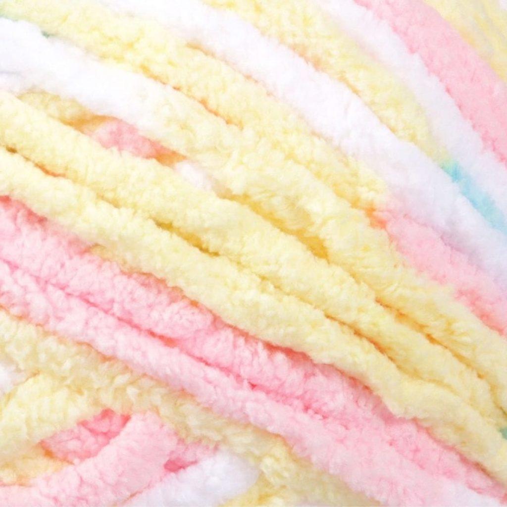 Bernat Baby Blanket Big Ball Pitter Patter texture