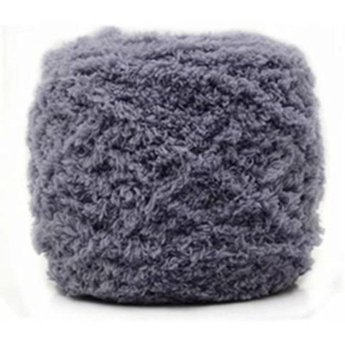 Celine lin One Skein Super Soft Warm Coral Fleece Fluffy Knitting Yarn