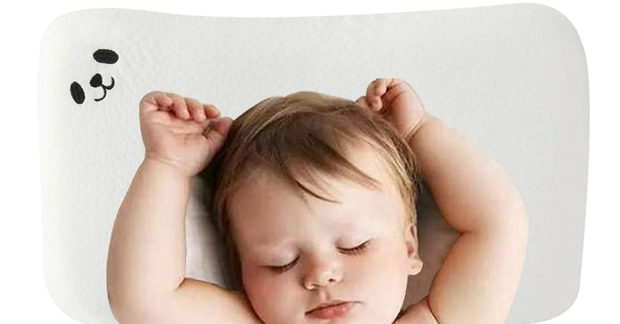 LIANXIN Baby Pillow Memory Foam with baby