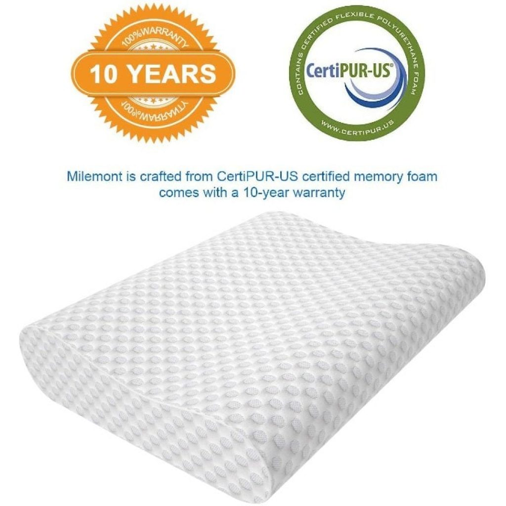 Milemont Cervical Pillow, warranty