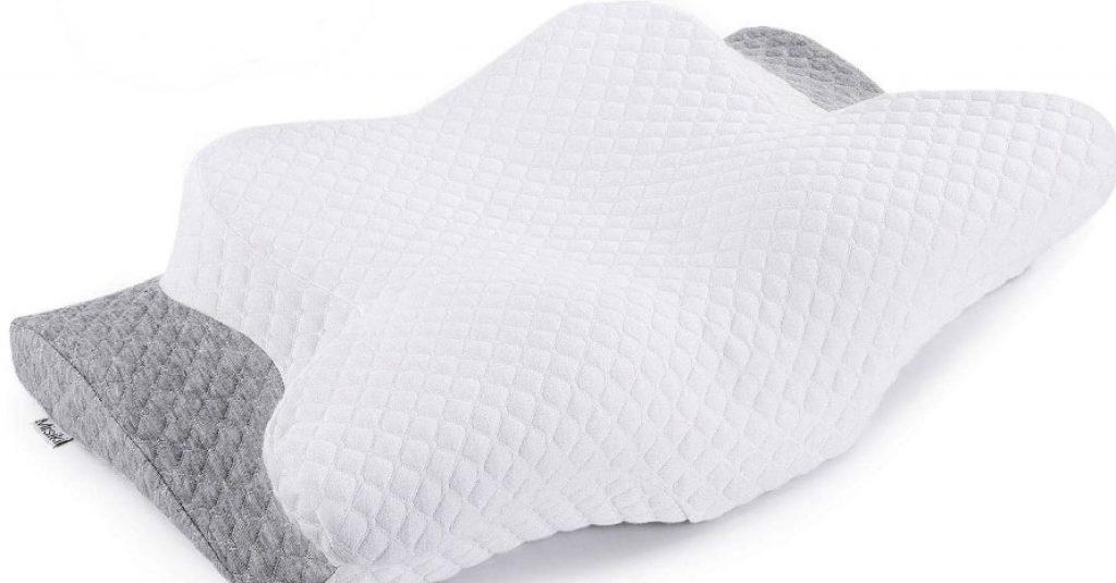Misiki Memory Foam Piilow Orthopedic Pillow