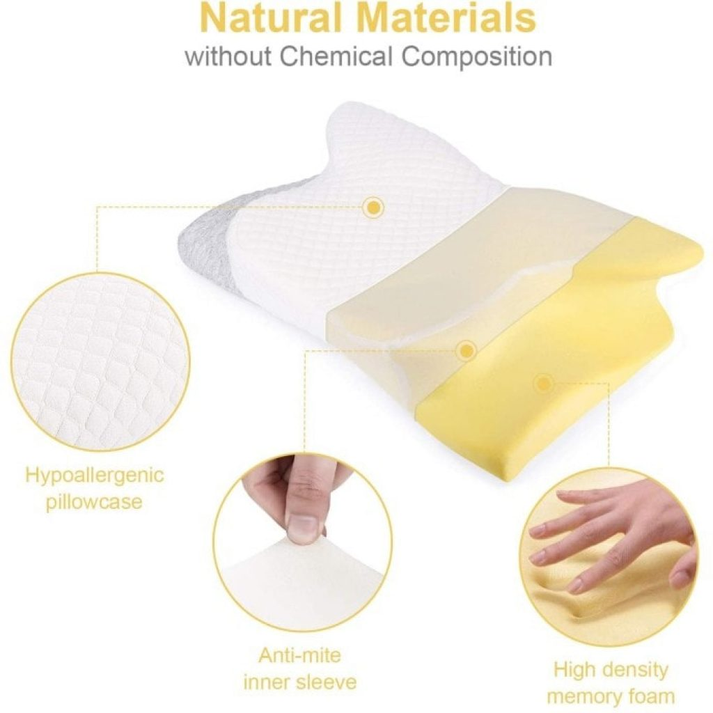 materials of Misiki Orthopedic Pillow