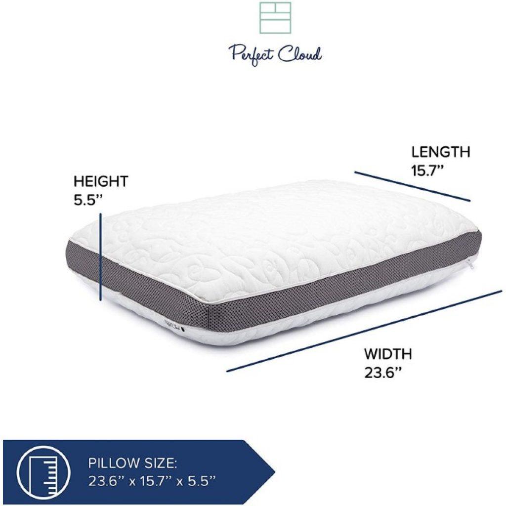 Perfect Cloud Double Airflow Pillow, dimensions