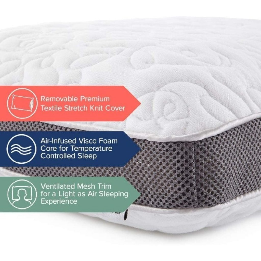Perfect Cloud Double Airflow Pillow, materials