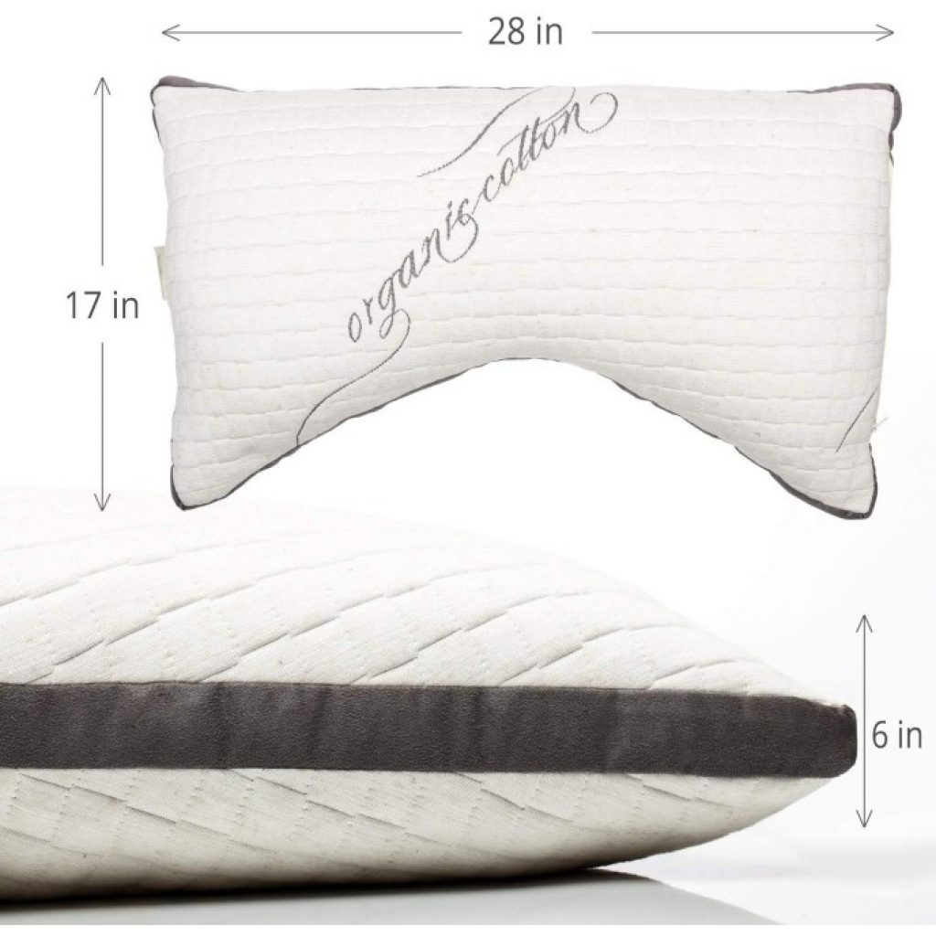 Sleep Artisan Luxury Side Sleeper Pillow dimensions