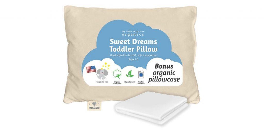 Toddler Pillow Made in USA