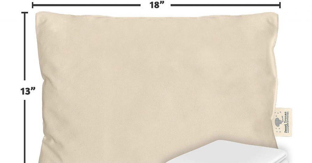 Toddler Pillow Made in USA sizes