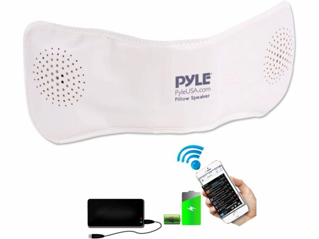 pyle ppsp18 bluetooth pillow speaker