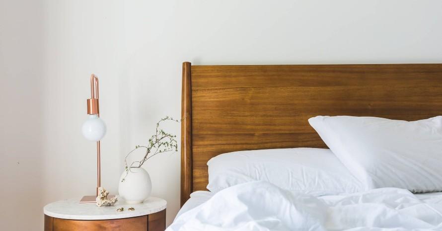 two-white-pillows
