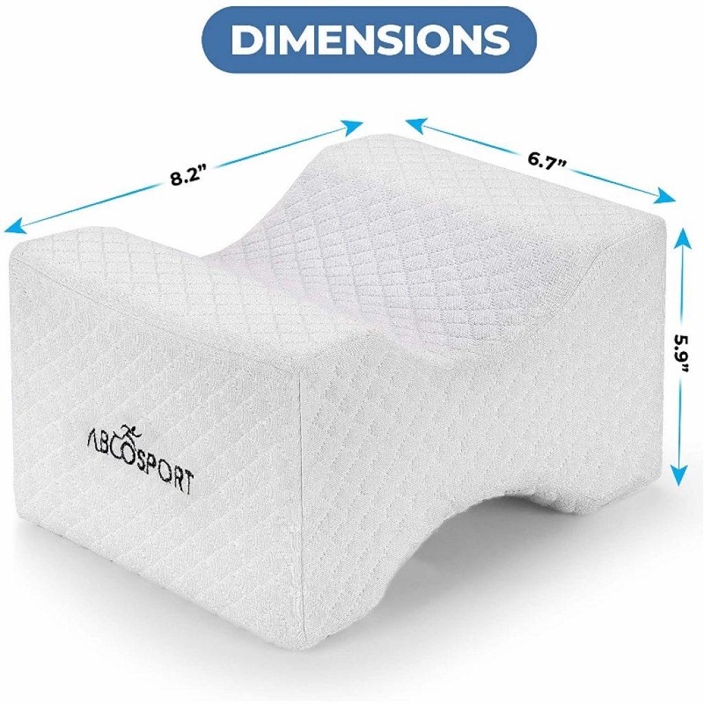 Abco-Tech-Memory-Foam-Knee-Pillow